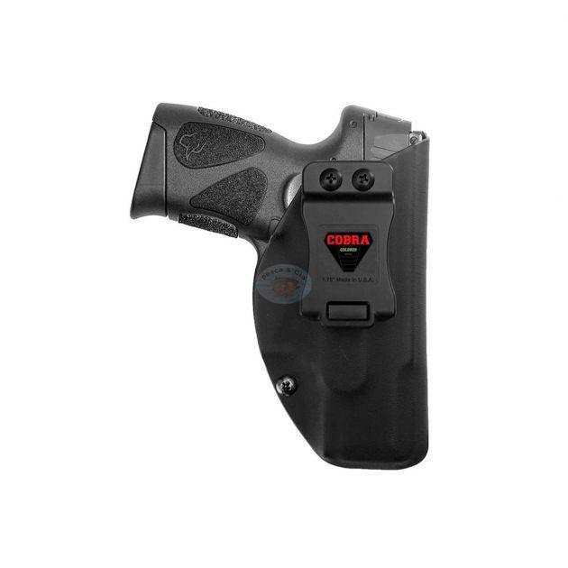Coldre Slim Interno Cobra Kydex Pistola Taurus G2C .40/9mm - Destro