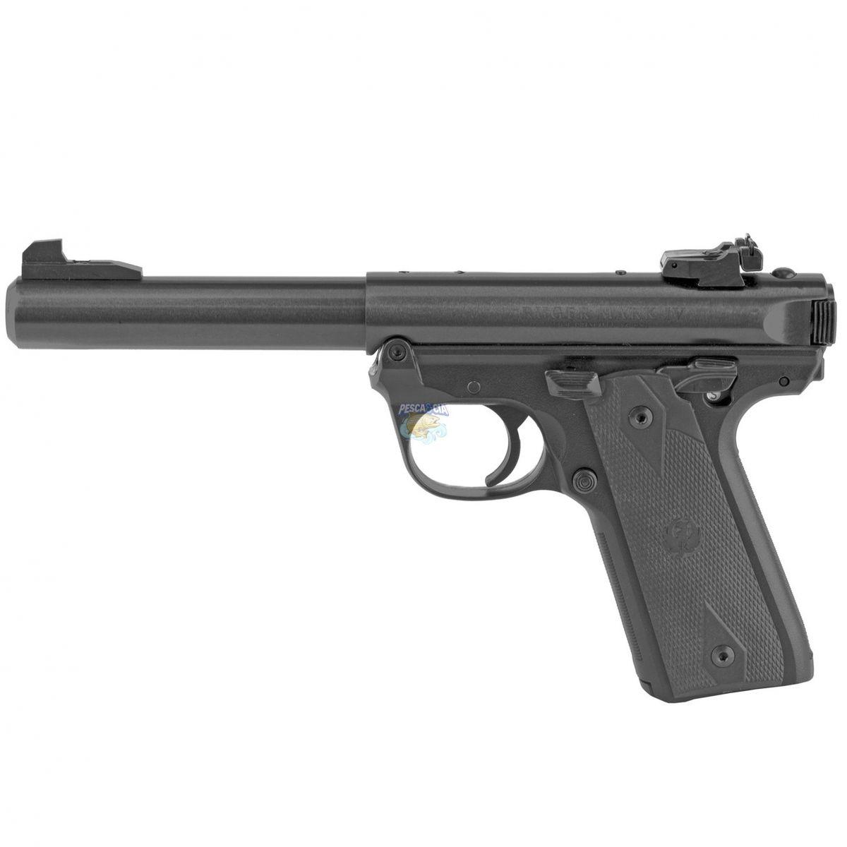 "Pistola Ruger MARK IV™ 22/45 Cal.22LR 10 Tiros - Cano 5.50"""