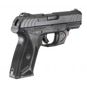 "Pistola Ruger Security-9 Viridian E-Series C/Laser Cal. 9mm 4"" Oxidada - 15 Tiros"