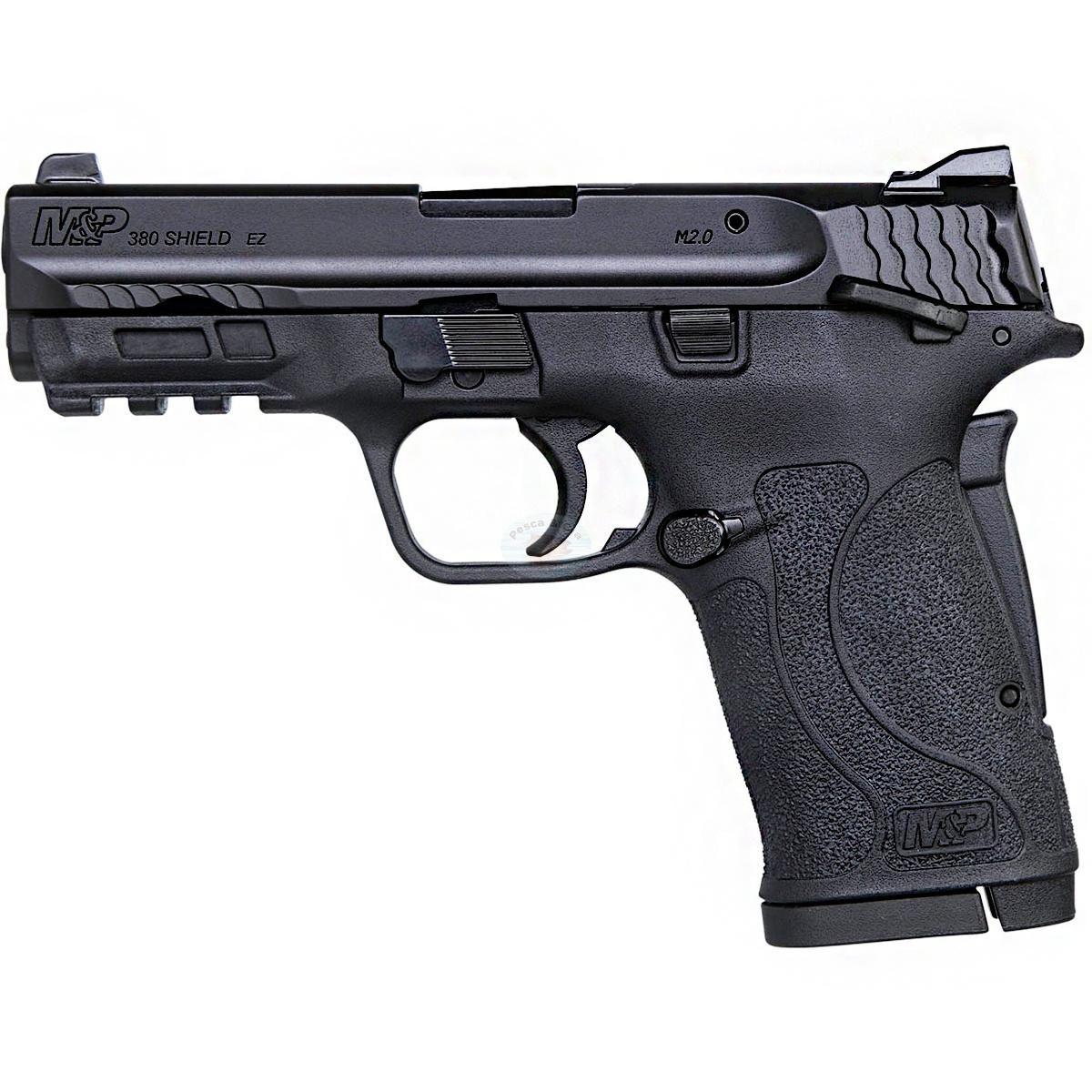 Pistola Smith & Wesson M&P380 Shield EZ Cal. 380AUTO Oxidada - 08 Tiros