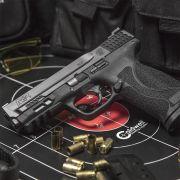 Pistola Smith & Wesson M&P 9 M 2.0 Cal. 9mm Oxidada 17 Tiros - Com 03 Carregadores