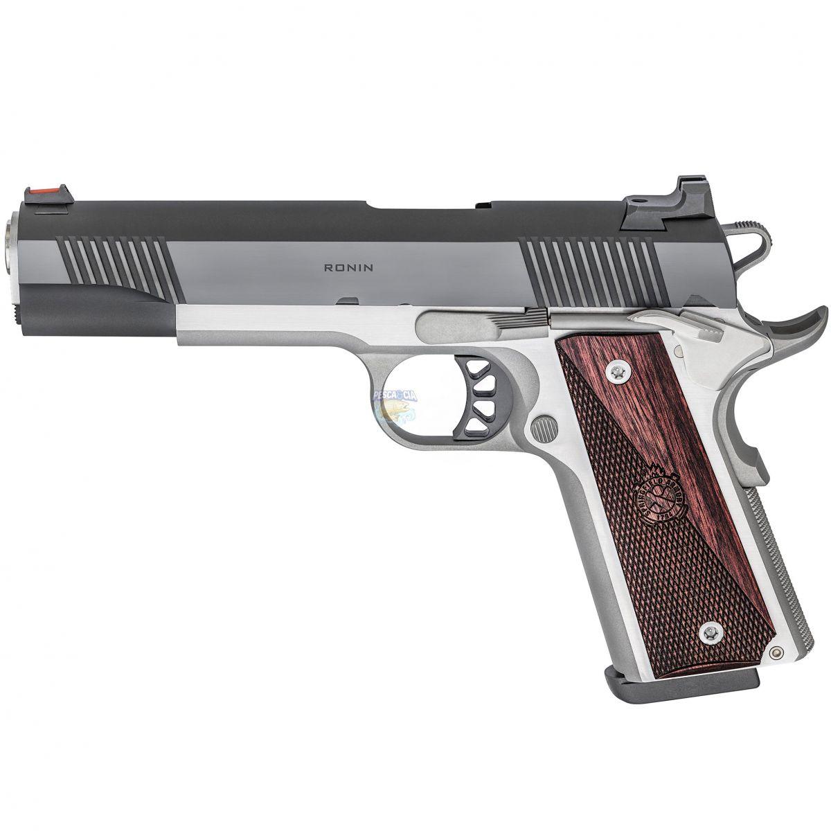 """Pistola Springfield 1911-A1 RONIN Cal.45ACP 8 Tiros - Cano 5"""" Polegadas ** Pré-Venda"""