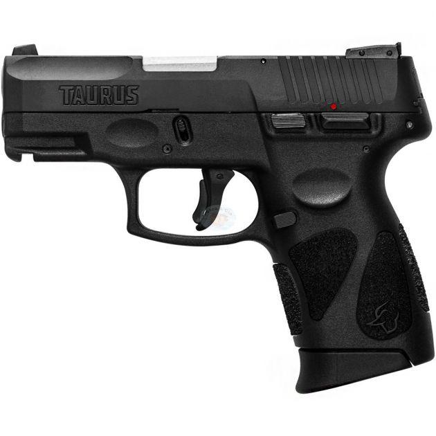 Pistola Taurus G2C Cal. 9mm Oxidada - 12 Tiros