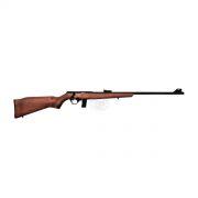 Rifle CBC Cal. 22LR Mod. 8122 Bolt Action Oxidada Madeira + **LUNETA BRINDE**