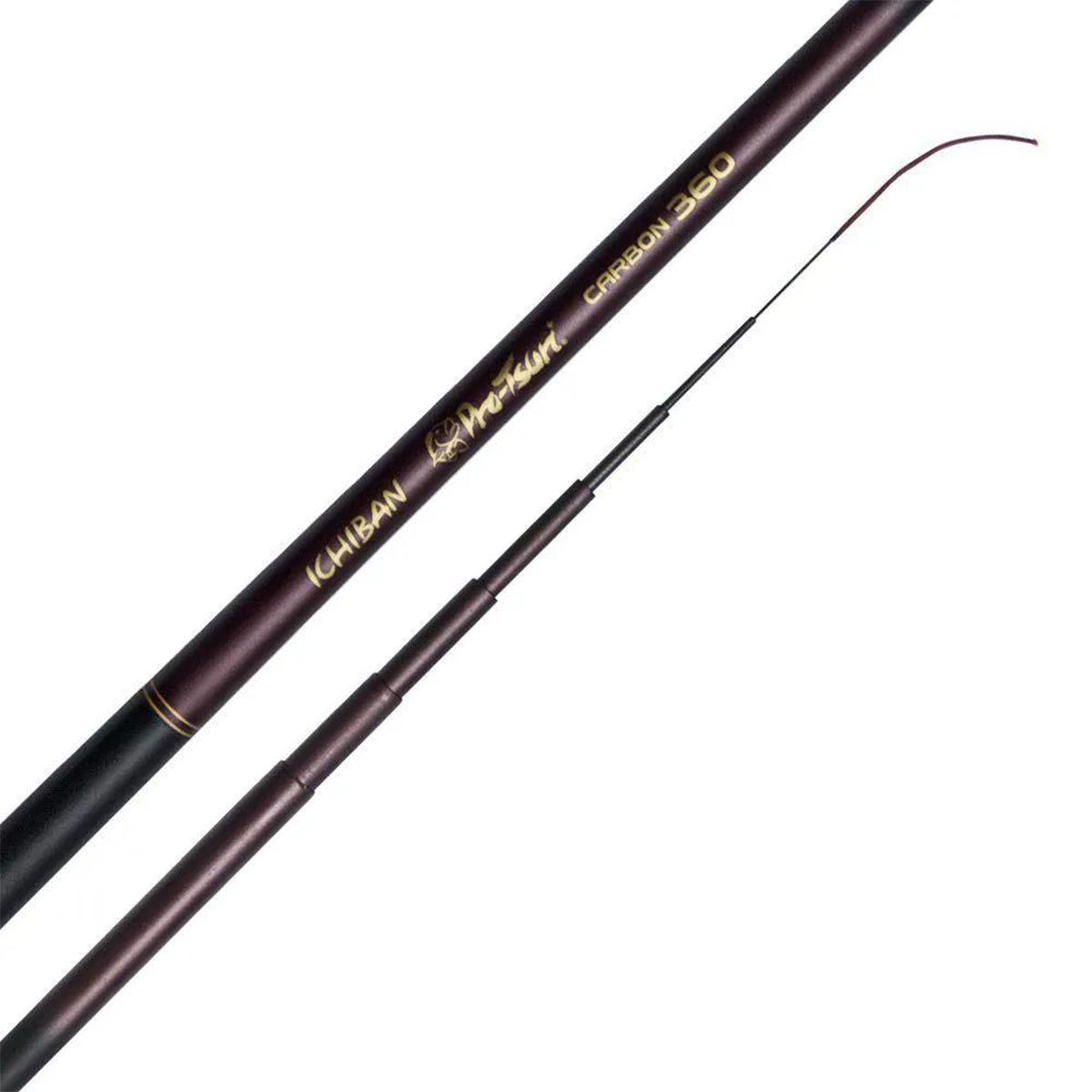 Vara Pro Tsuri Ichiban Carbono 3.60m - Telescópica